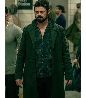 THE BOYS KARL URBAN (BILLY BUTCHER) BLACK COAT
