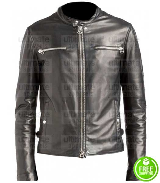 THE DEFENDERS MIKE COLTER (LUKE CAGE) LEATHER JACKET