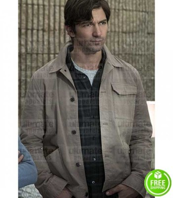 THE HAUNTING OF HILL HOUSE MICHIEL HUISMAN (STEVEN CRANE) COTTON JACKET