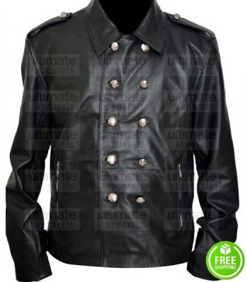 THE VAMPIRE DIARIES NATHANIEL BUZOLIC LEATHER JACKET