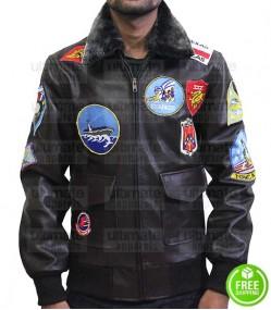 Top Gun Tom Cruise Bomber Replica Aviator Flight Jacket