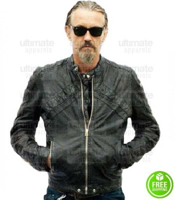 SONS OF ANARCHY TOMMY FLANAGAN (CHIBS TELFORD) LEATHER JACKET