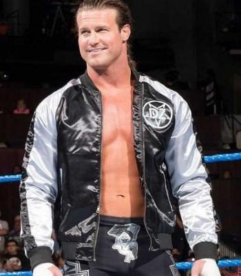 WWE DOLPH ZIGGLER DZ SATIN JACKET