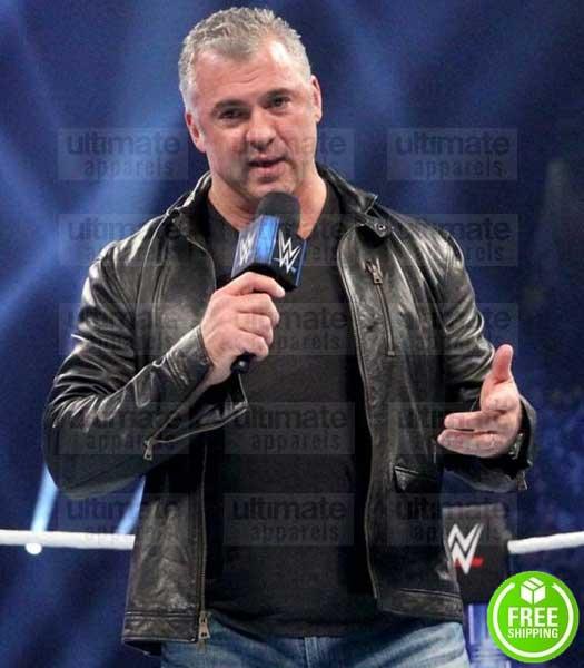 WWE SHANE MCMAHON LEATHER JACKET