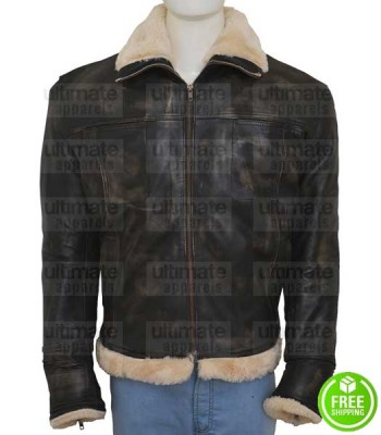 xXx XANDER CAGE (VIN DIESEL) FUR LEATHER JACKET