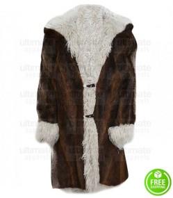 XXX RETURN OF XANDER CAGE VIN DIESEL BROWN FUR COAT