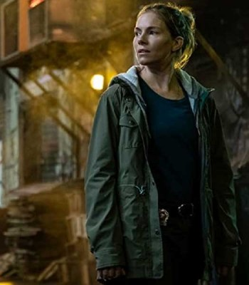 21 BRIDGES SIENNA MILLER GREEN JACKET