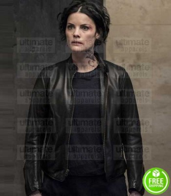 BLINDSPOT JAIMIE ALEXANDER (JANE DOE) LEATHER JACKET