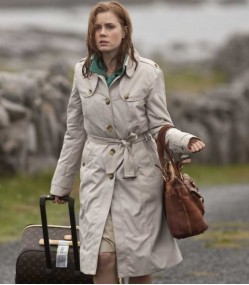 LEAP YEAR AMY ADAMS COTTON TRENCH COAT
