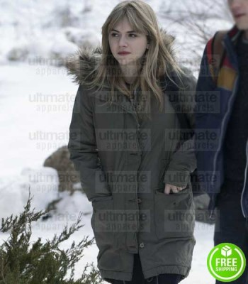 LOCKE AND KEY EMILIA JONES (KINSEY LOCKE) FUR COAT