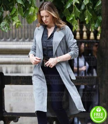 MISSION IMPOSSIBLE 6 REBECCA FERGUSON (ILSA FAUST) WOOL TRENCH COAT