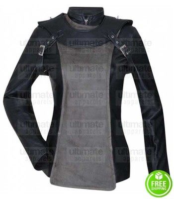SKY CAPTAIN AND WORLD OF TOMORROW ANGELINA JOLIE (FRANKY COOK) LEATHER JACKET