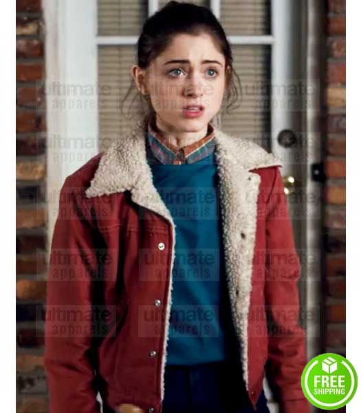 STRANGER THINGS NATALIA DYER (NANCY WHEELER) JACKET