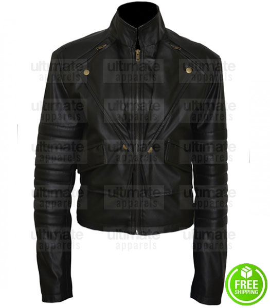 THE MORTAL INSTRUMENTS LILY COLLINS (CLARY FRAY) JACKET
