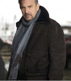3 DAYS TO KILL KEVIN COSTNER BROWN LEATHER JACKET