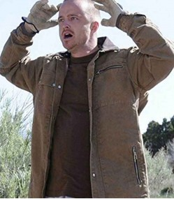 BREAKING BAD AARON PAUL (JESSE PINKMAN) COTTON JACKET