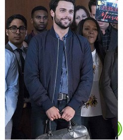HOW TO GET AWAY WITH MURDER JACK FALAHEE (CONNOR WALSH) BOMBER JACKET
