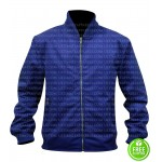 6 UNDERGROUND RYAN REYNOLDS BLUE BOMBER JACKET