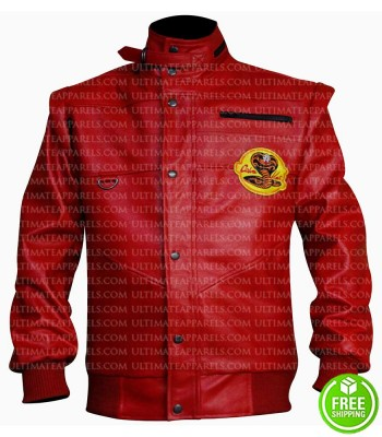 COBRA KAI JOHNNY LAWRENCE RED JACKET