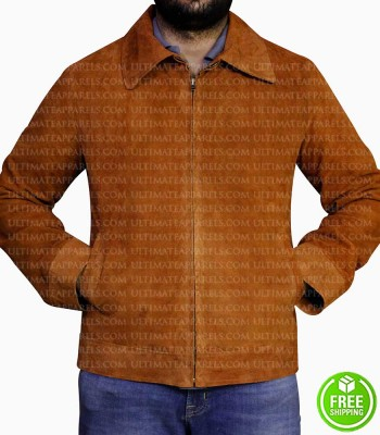 LAST ACTION HERO ARNOLD SCHWARZENEGGER TAN BROWN JACKET