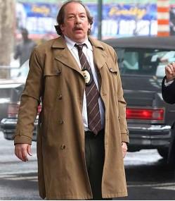 JOKER BILL CAMP (DETECTIVE GARRITY) BROWN COTTON COAT
