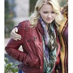 A DAUGHTER'S NIGHTMARE EMILY OSMENT RED JACKET
