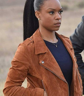 LETHAL WEAPON SONYA BAILEY LEATHER JACKET