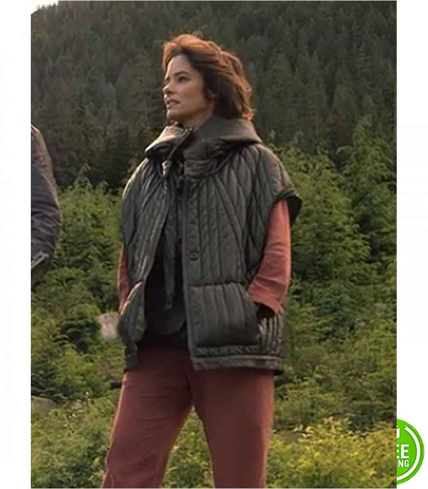 LOST IN SPACE PARKER POSEY (DR. ZACHARY SMITH) BLACK JACKET
