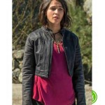 POWER RANGERS NAOMI SCOTT (KIMBERLY HART) LEATHER JACKET