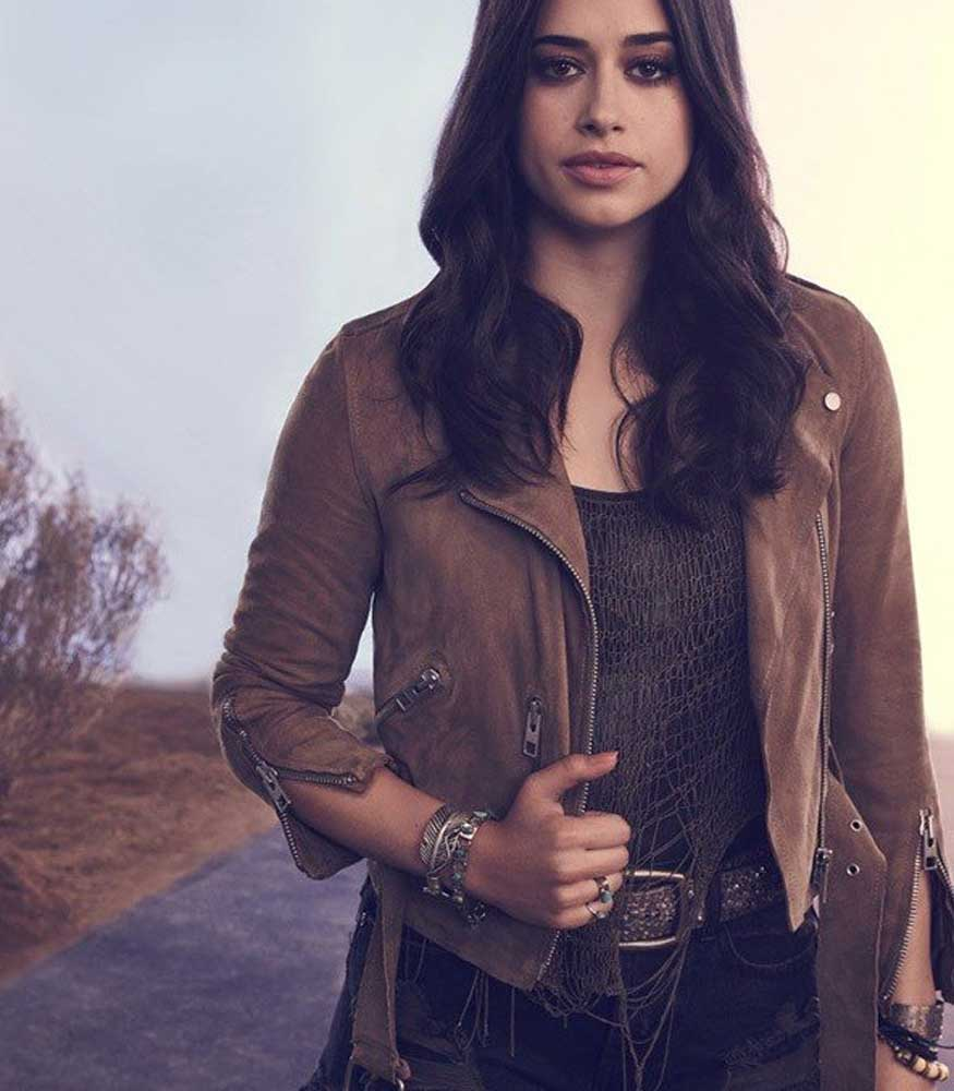ROSWELL NEW MEXICO LIZ ORTECHO LEATHER JACKET