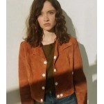 SKAM FRANCE MANON DE­MIS­SY BROWN JACKET
