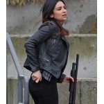 SUPERGIRL FLORIANA LIMA BLACK JACKET