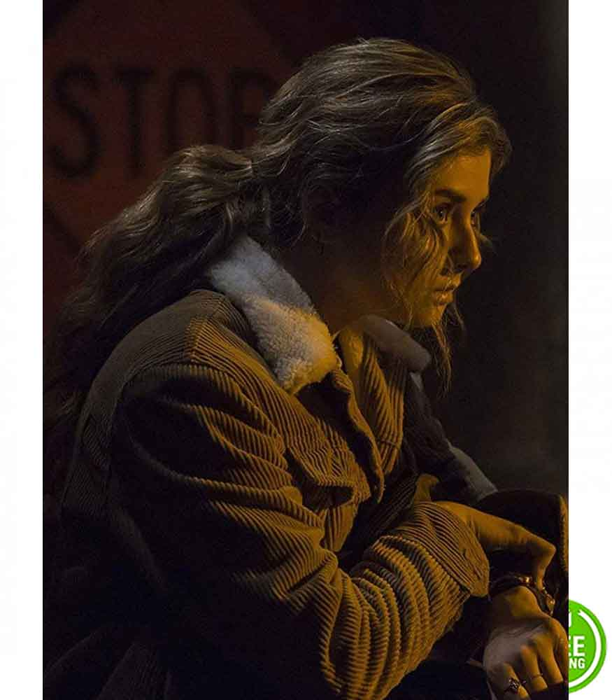 THE PUNISHER GIORGIA WHIGHAM (AMY BENDIX) CORDUROY JACKET
