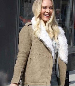 YOUNGER HILARY DUFF (KELSEY PETERS) COTTON JACKET