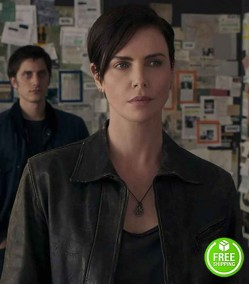 THE OLD GUARD CHARLIZE THERON (ANDY) LEATHER JACKET