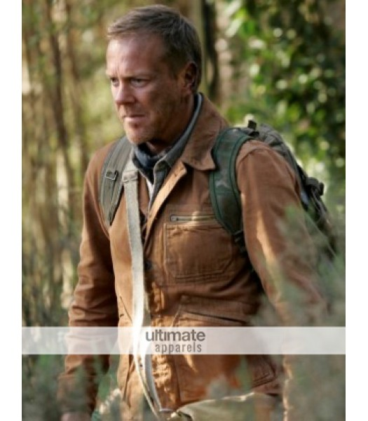 24 Redemption Film Jack Bauer Brown Soft Leather Jacket