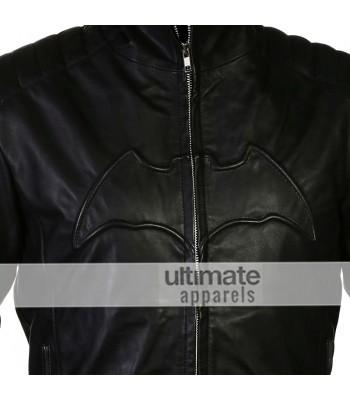 Batman Begins Christian Bale Bruce Wayne Black Jacket