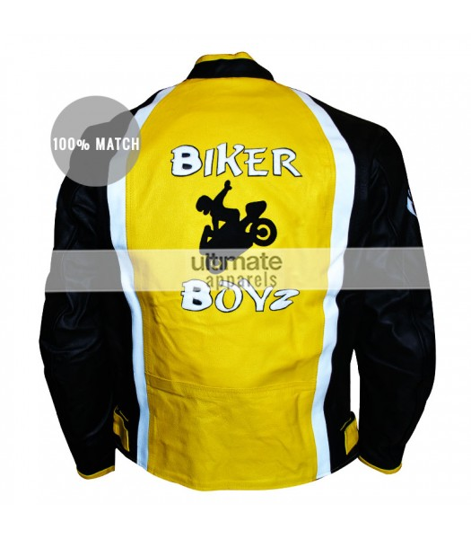 Biker Boyz Derek Luke (Kid) Yellow Motorcycle Jacket