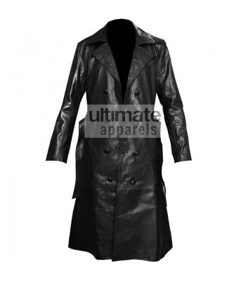 Buffy the Vampire Slayer Spike Trench Leather Jacket/Coat