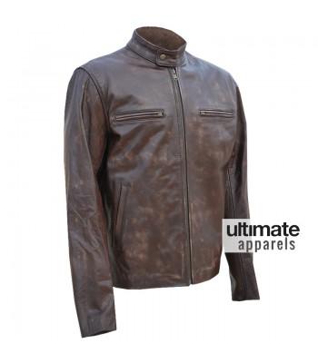Contraband Mark Wahlberg Distressed Jacket