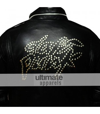 Daft Punk Electroma Black Replica Leather Jacket