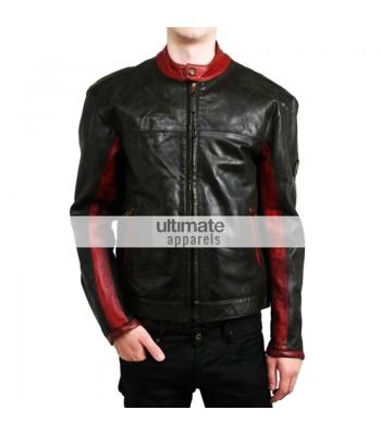 Dark Knight Batman Belstaff Black Motorcycle Jacket