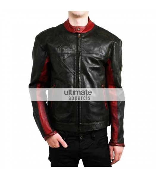 Dark Knight Batman Belstaff Black Motorcycle Jacket