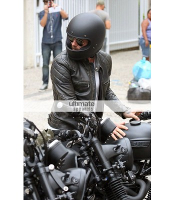 David Beckham Into The Unknown Motorcycle Black Jacket