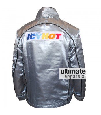 Death Proof Icy Hot Kurt Russell Silver Jacket