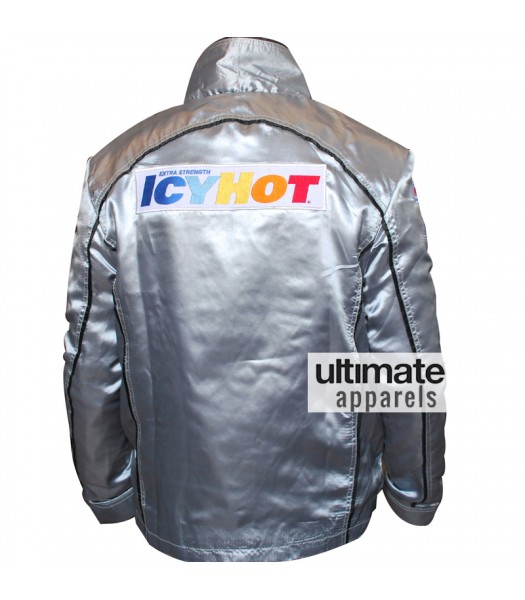 Death Proof Icy Hot Kurt Russell Silver Replica Jacket