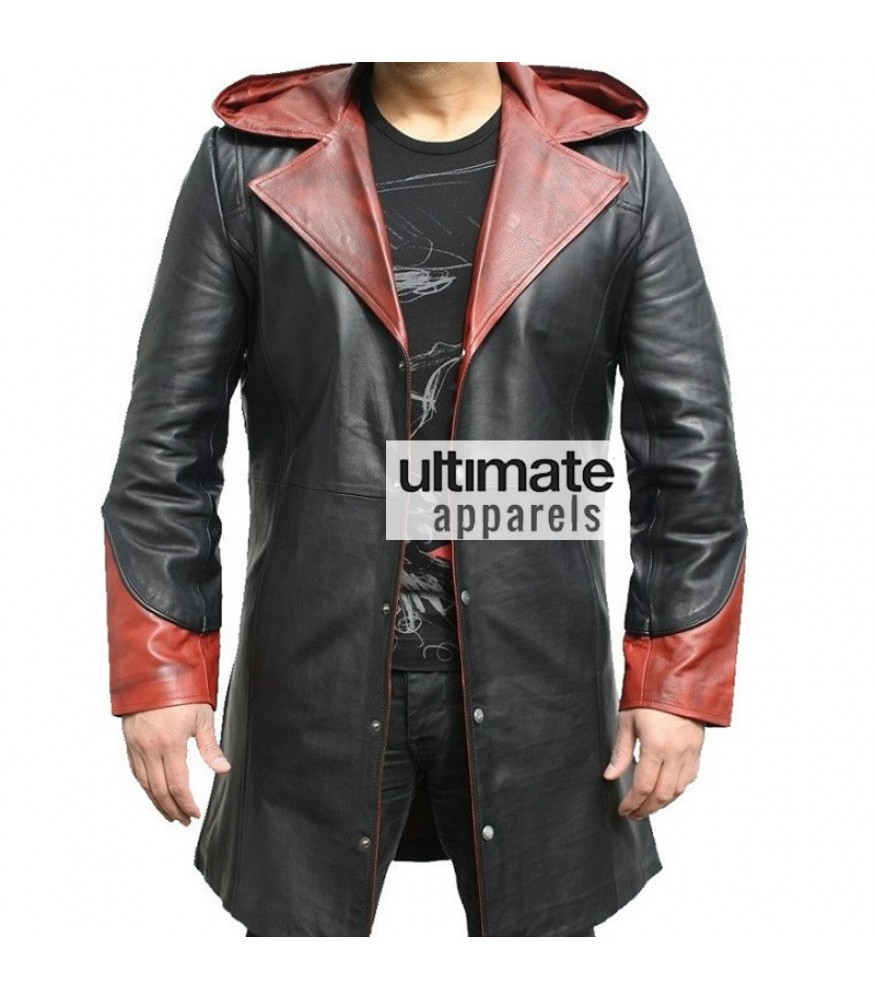 Devil May Cry DMC 5 Dante Distressed Trench Jacket