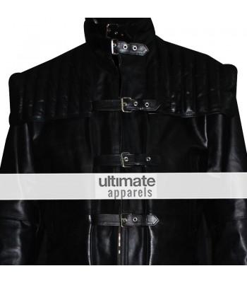 Gabriel Van Helsing Hugh Jackman Black Trench Jacket Costume