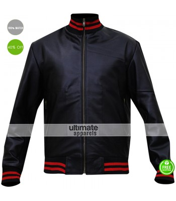 Gucci Eminem Not Afraid Leather Bomber Jacket