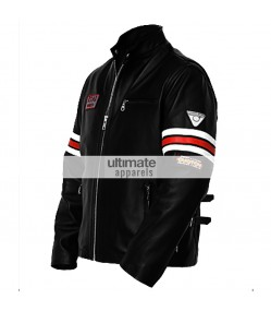 House Of MD Dr Gregory House Black Biker Jacket